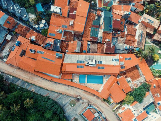Foto aérea de Morro de São Paulo | Morro da Saudade Hotel