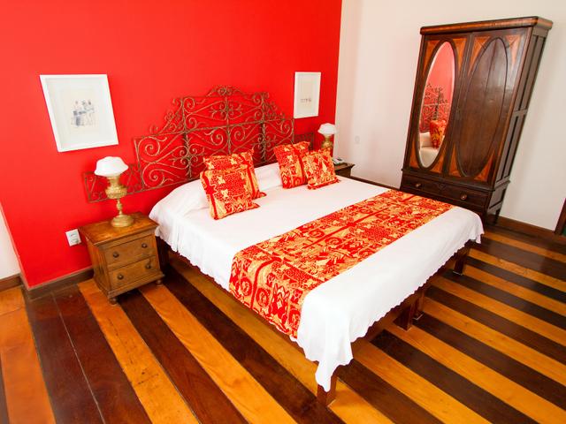 Habitación doble Xangô, cama queen, Pelourinho, Salvador