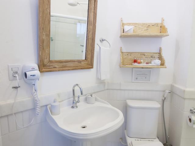 Baño privado, habitación familiar Oxalá, Pelourinho-Salvador