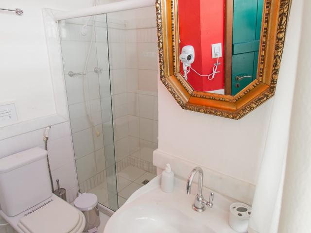 Baño privado, habitación doble Xangô, Pelourinho, Salvador