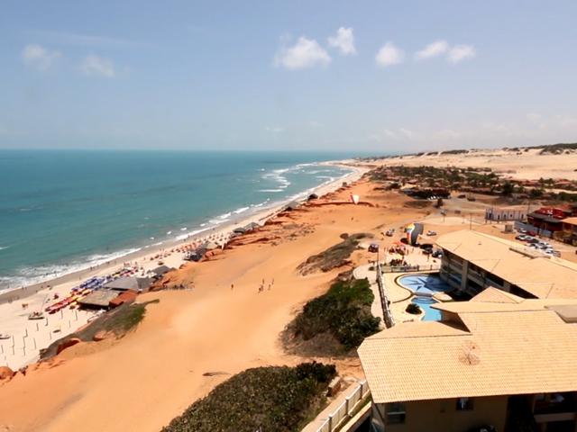 Praia de Canoa Quebrada em Fortaleza