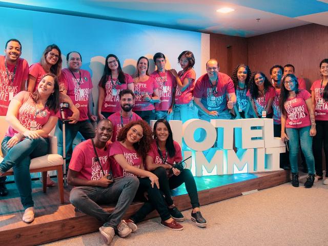 Equipe do Hotel Summit