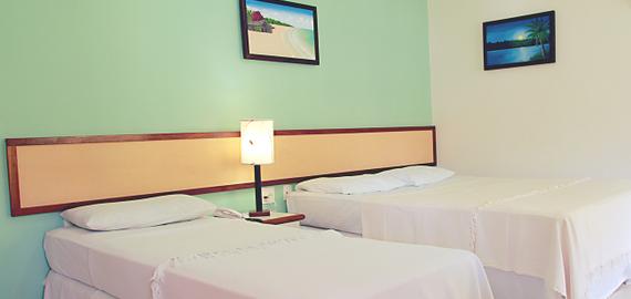 Quarto Standard Hotel Paraíso Tropical em Morro de São Paulo