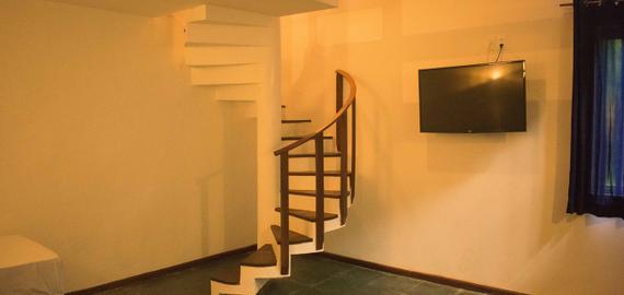 Quarto Duplex Standard - Hotel em Morro de São Paulo