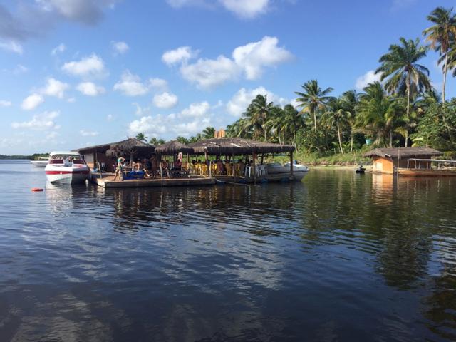 Volta da Ilha em Morro de São Paulo, Village Paraiso Tropica