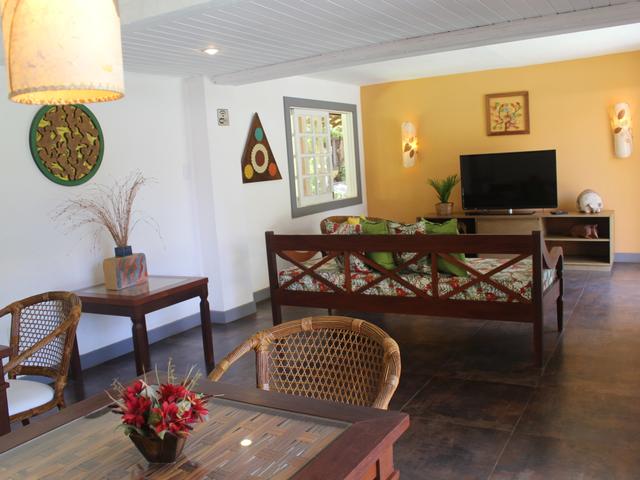 Sala de TV Tatuapara - Pousada em Praia do Forte
