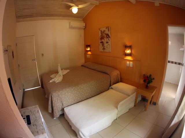 Apartamento Duplo Família - Pousada Praia do Forte