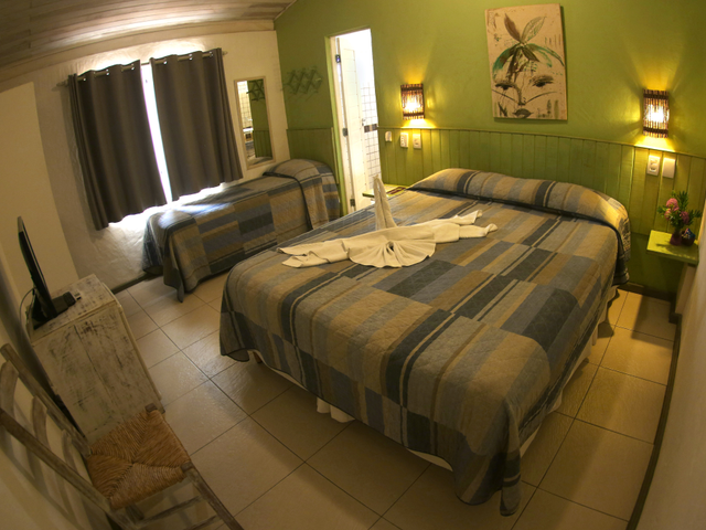 Apartamento Triplo Standard - Pousada Praia do Forte