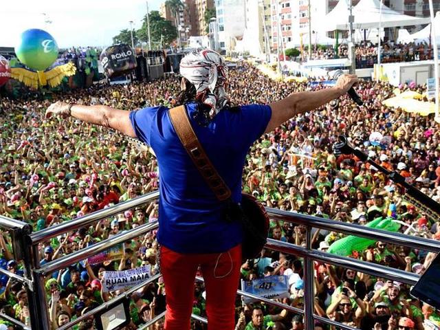 Bell no Carnaval de Salvador - Bahiamar Hotel