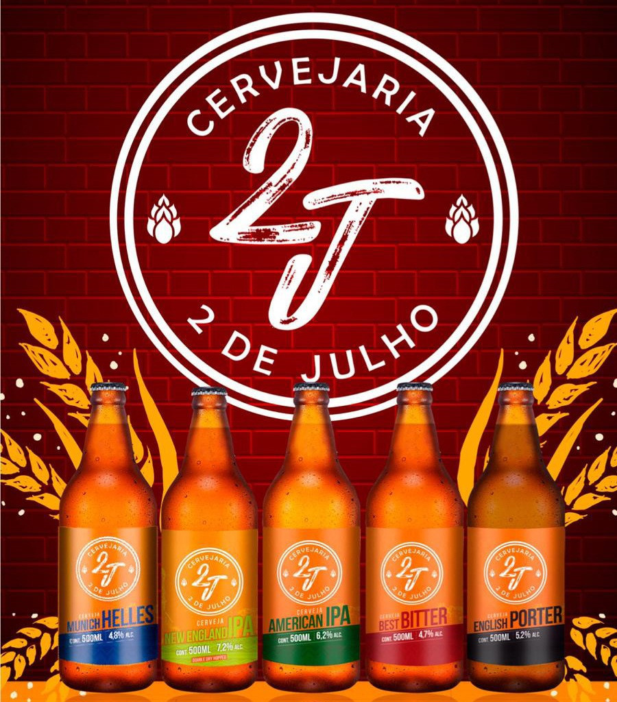 Cervejas artesanais da 2 de Julho - Hotel Summit