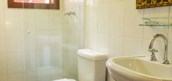 Banheiro - Pousada Casa da Lagoa - Florianópolis