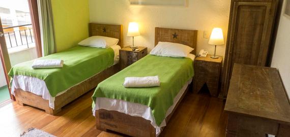 Quarto casal - Pousada Casa da Lagoa - Florianópolis