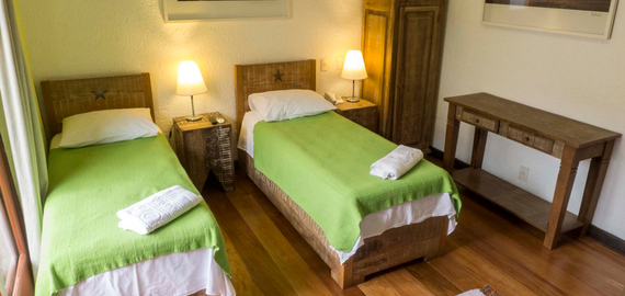 Quarto duplo - Pousada Casa da Lagoa - Florianópolis