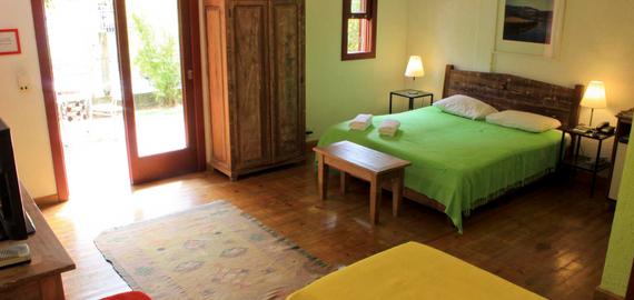 Quarto quádruplo - Pousada Casa da Lagoa - Florianópolis