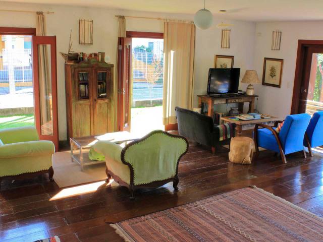 Sala de estar - Pousada Casa da Lagoa - Florianópolis
