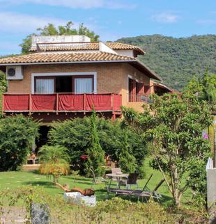 Lateral Pousada Casa da Lagoa - Florianópolis