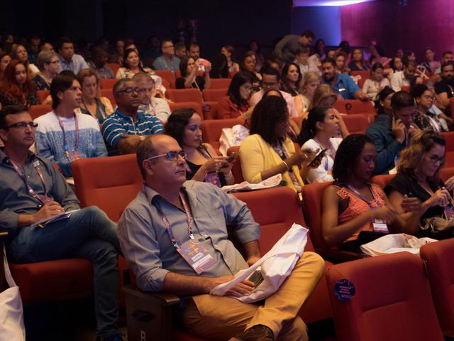 Nossos participantes com total atenção no Hotel Summit 2019