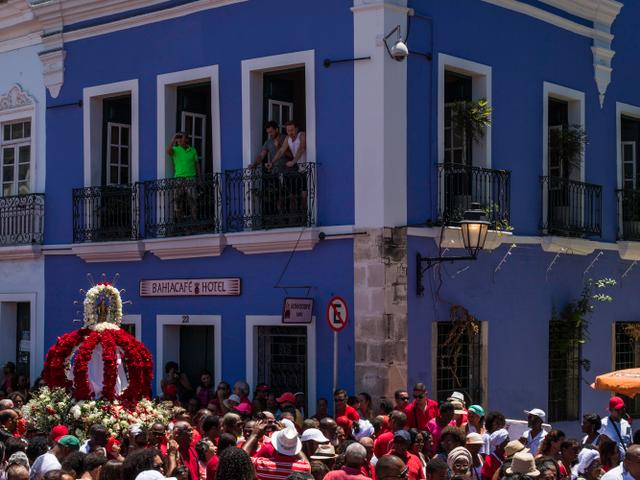 Fachada - BahiaCafé Hotel - Salvador - Bahia
