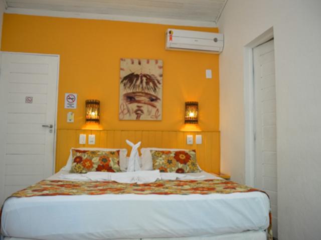 Apartamento standard duplo casal | Pousada Tatuapara BA