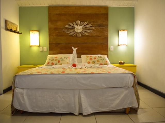Apartamento Triplo Família | Pousada Tatuapara Praia do Fort