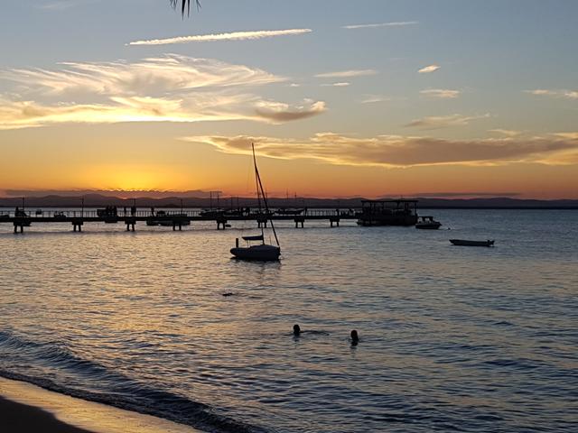 Por do Sol Pousada Porto da Barra Barra Grande