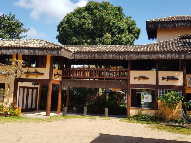 Estacionamento Pousada Porto da Barra Barra Grande