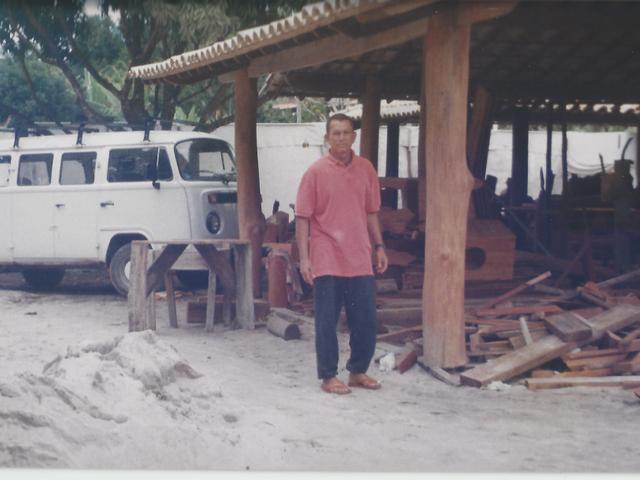 Fundador da Pousada Porto da Barra Barra Grande