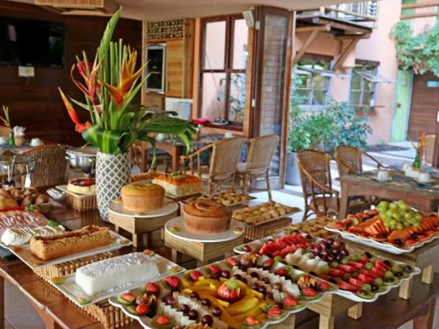 Café da Manhã - Sobrado da Vila Hotel