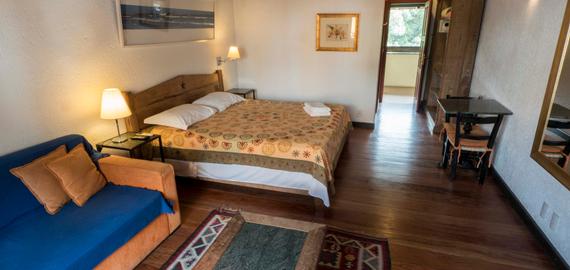 Quarto duplo- Pousada Casa da Lagoa - Florianópolis