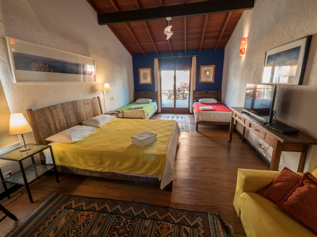 Apartamento quádruplo Pousada Casa da Lagoa - Florianópolis