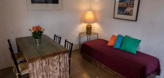 Apartamento cozinha - Pousada Casa da Lagoa - Florianópolis
