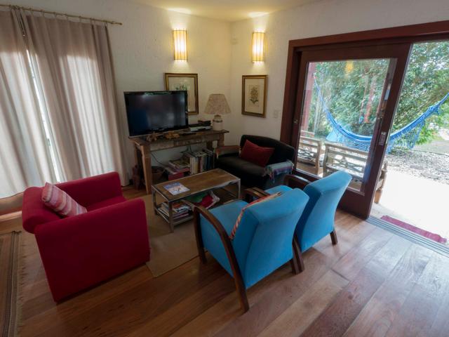 Salão - Pousada Casa da Lagoa - Florianópolis