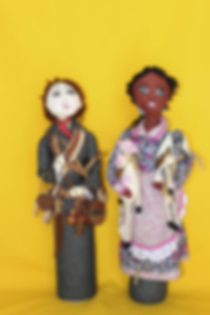 Bonecas representam mulheres ribeirinhas