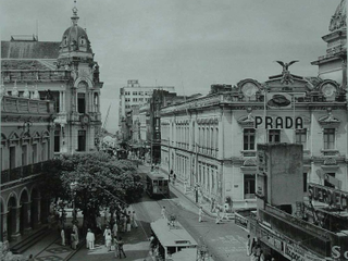 Vista das Antiga Rua Chile