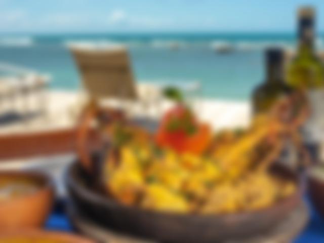 Restaurante Azzurro Terceira Praia em Morro de São Paulo